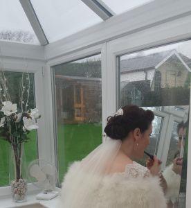 Victoria's Bespoke Wedding Dress