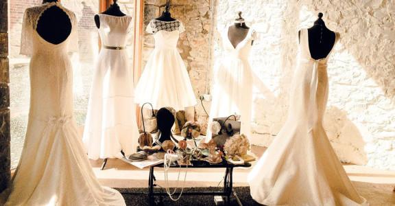 Helen Rhiannon Ready to Wear Collection, Rachel Burgess Bridal Boutique, Penarth.