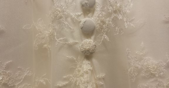 Victoria's Bespoke Wedding Dress