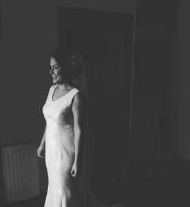 Sian wearing 'Ava' by Helen Rhiannon
